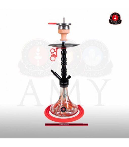 AMY Deluxe 073.02 Alu Sierra Zwart Rood