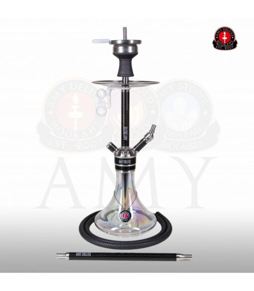 AMY SS21.02 CARBONICA FORCE R Silver Transparant