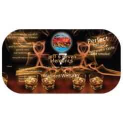 Jeff's Seven Elements - Matured Whiskey Smaakversterker voor je waterpijp tabak, steam stones en voor het hergebruiken van dampsteentjes, Molasse om je steam stones te hergebruiken. Of gebruik het met Shiazo steam stones Pure naturel Voordelig in gebruik.