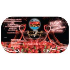 Jeff's Seven Elements - Strawberry Cream Waterpijp steam stones tabak voor je shisha.