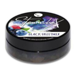 SteamshoX - Black Fruitmix Waterpijp pasta, steam stones, hookah crème, waterpijp gel, squeeze, Waterpijp tabak.